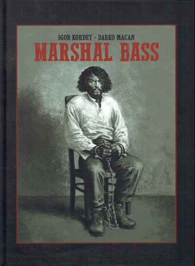 Couverture Marshal Bass - tirage luxe tomes 3 + 4