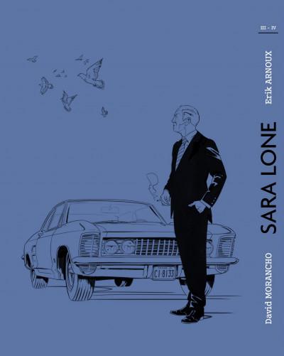 Dos Sara Lone - tirage de luxe tomes 3 + 4