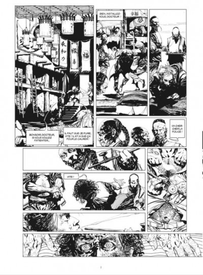 Page 1 Moriarty - tirage de luxe tomes 1 et 2