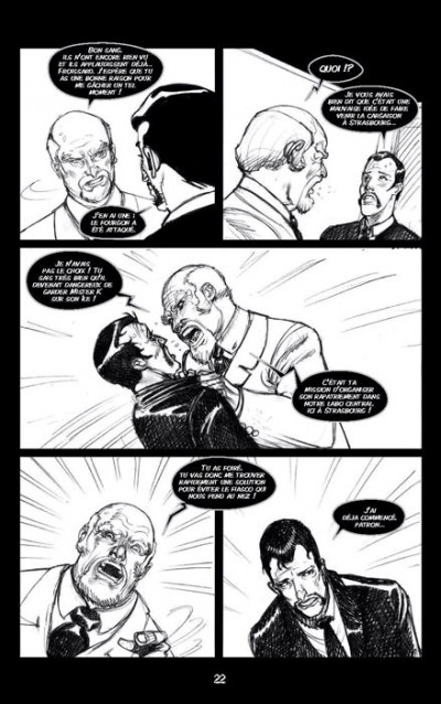 Page 3 Zombie walk tome 1