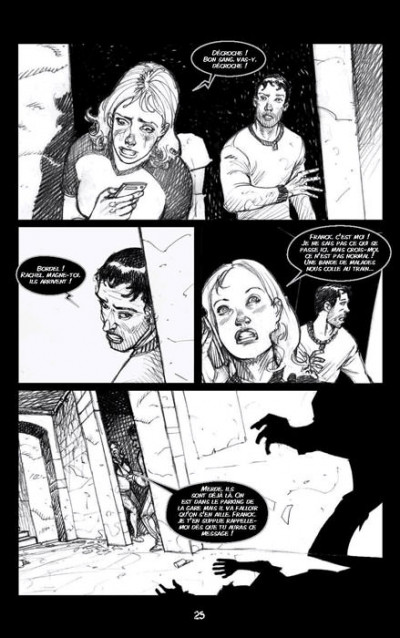 Page 4 Zombie walk tome 1