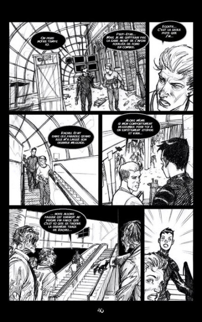 Page 8 Zombie walk tome 1