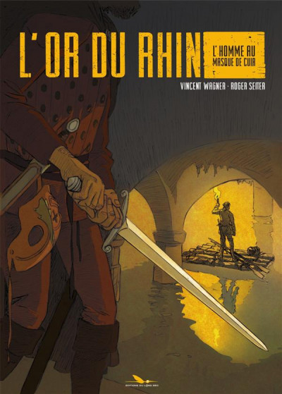 Couverture L'or du Rhin tome 1