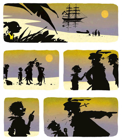 Page 4 Le pont des pirates