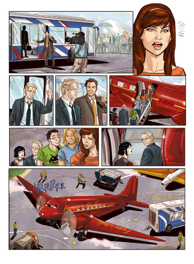 Page 3 Envols tome 2 - là où vont les rêves