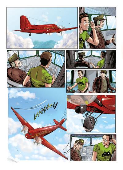Page 4 Envols tome 2 - là où vont les rêves