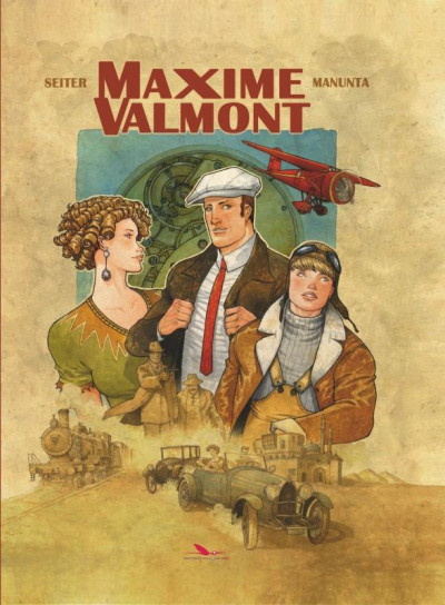Couverture Maxime Valmont tome 1
