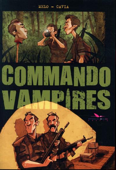 Couverture Commando vampires