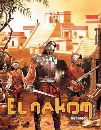 Couverture El nakom tome 2