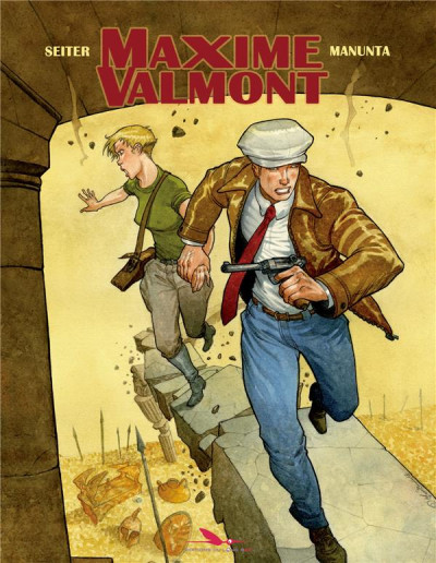 Couverture Maxime Valmont tome 2