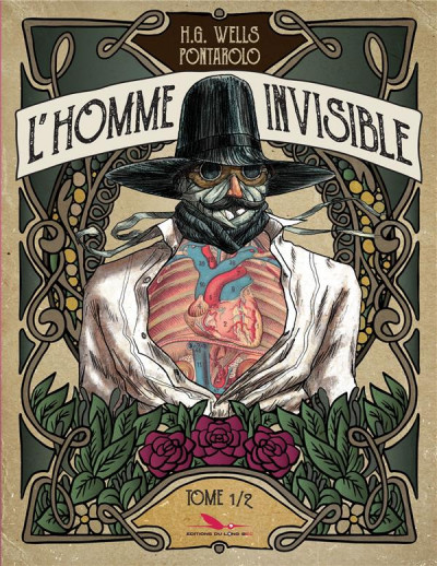 Couverture L'homme invisible tome 1
