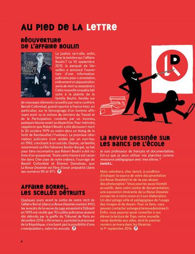 Page 5 La revue dessinée tome 11