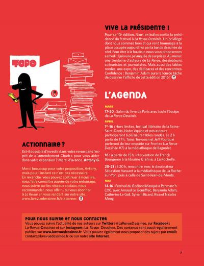Page 6 La revue dessinée tome 11