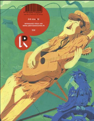 Dos La revue dessinée tome 12