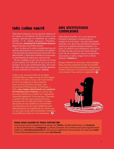 Page 6 La revue dessinée tome 12