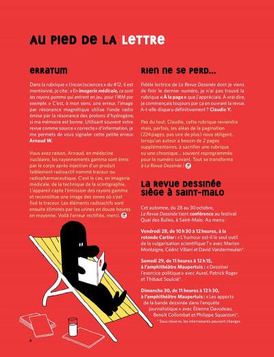 Page 6 La revue dessinée tome 13