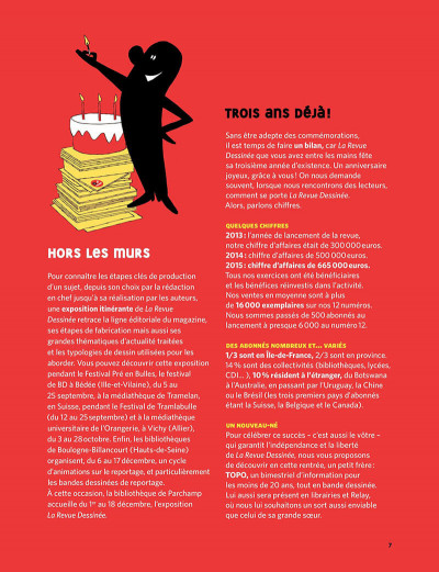 Page 7 La revue dessinée tome 13