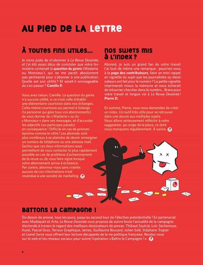 Page 5 La revue dessinée tome 14 - hiver 2016-2017