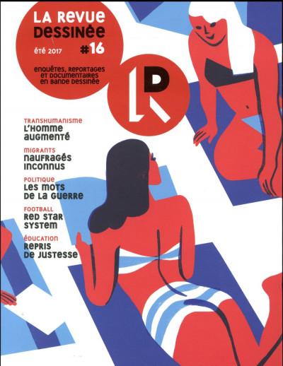 Couverture La revue dessinée tome 16