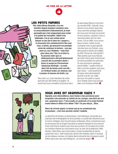 Page 5 La revue dessinée tome 19
