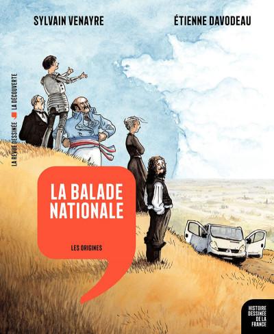 Couverture La balade nationale - les origines