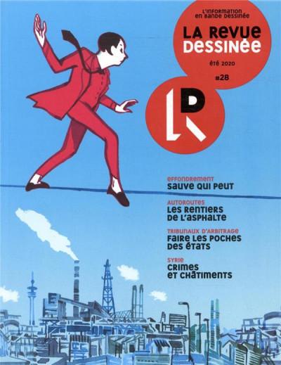 Couverture La revue dessinée tome 28