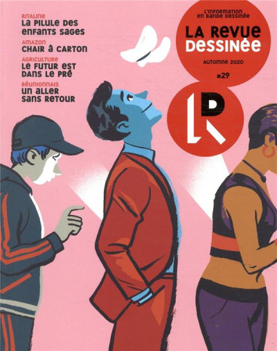 Couverture La revue dessinée tome 29