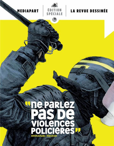 Couverture Hors-série la revue dessinée / mediapart