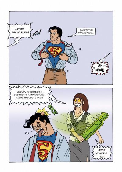 Page 1 Comic Parody tome 1