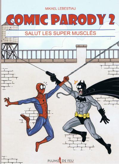 Couverture Comic Parody tome 2