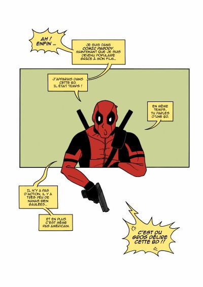 Page 1 Comic Parody tome 2