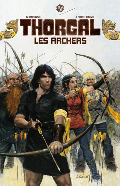Couverture Tirage de luxe Thorgal - Les archers