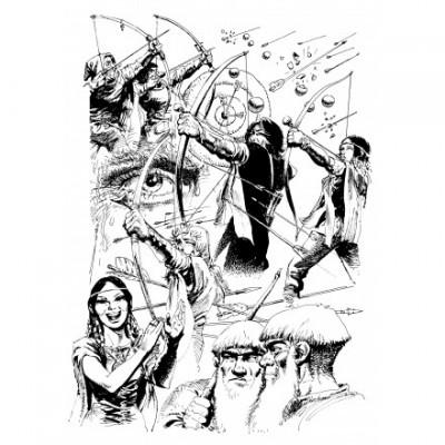Page 2 Tirage de luxe Thorgal - Les archers
