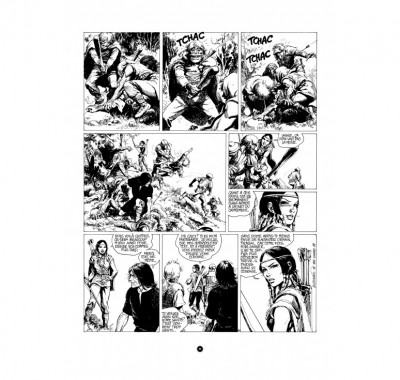 Page 4 Tirage de luxe Thorgal - Les archers