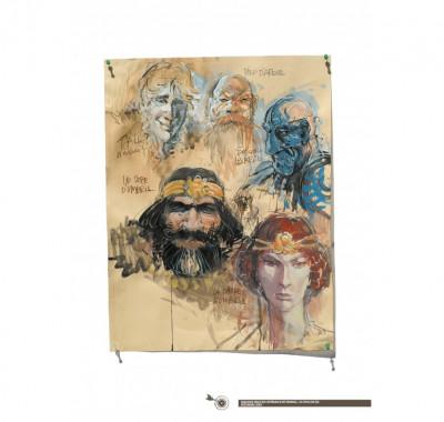 Page 5 Tirage de luxe Thorgal - Les archers