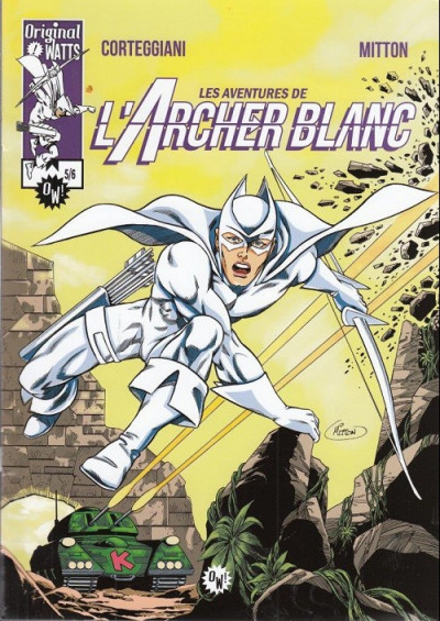 Couverture L'archer blanc tome 5