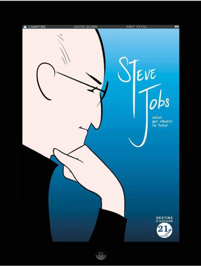 Couverture Steve Jobs