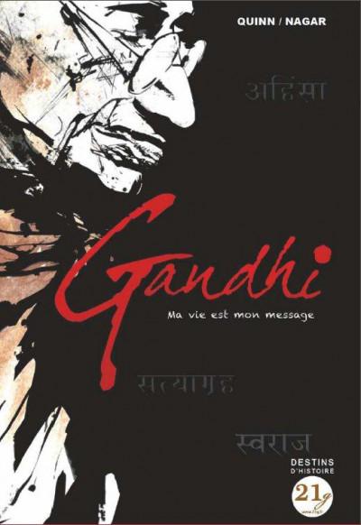Couverture Gandhi - ma vie est mon message