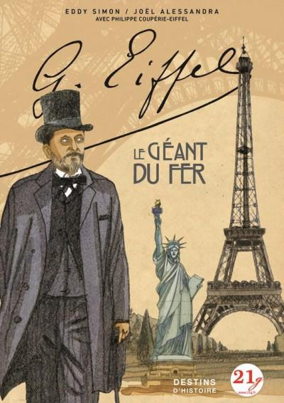 Couverture Gustave Eiffel - le géant du fer