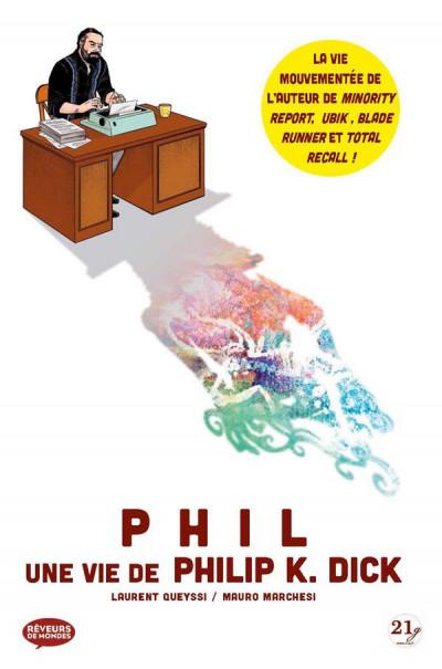 Couverture Phil - Une vie de Philip K. Dick