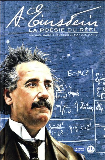Couverture Albert Einstein - la poésie du réel