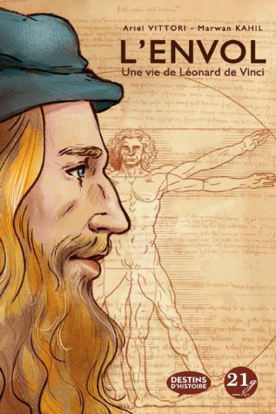 Couverture L'envol - Une vie de Léonard de Vinci