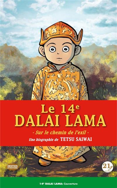 Couverture Le 14e dalaï-lama - La route de l'exil