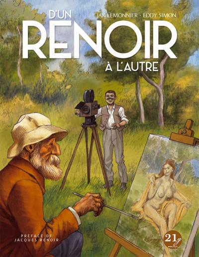 Couverture D'un Renoir à l'autre