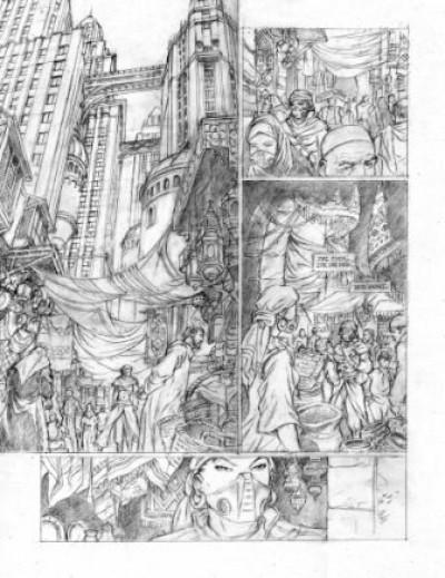 Page 1 Uchronie(s) New Byzance - Tirage de tête