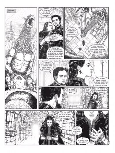 Page 1 Complainte des Landes perdues - cycle les sorcières - tirage de tête collector tome 2