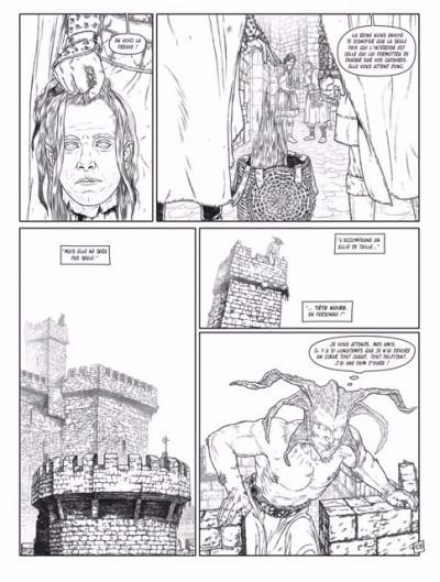 Page 3 Complainte des Landes perdues - cycle les sorcières - tirage de tête collector tome 2
