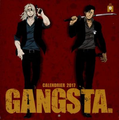 Couverture Gangsta calendrier 2017