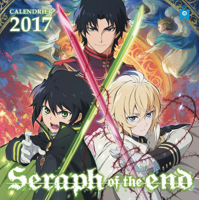 Couverture Seraph of the end - calendrier 2017