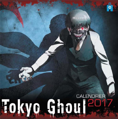 Couverture Calendrier 2018 - Tokyo ghoul